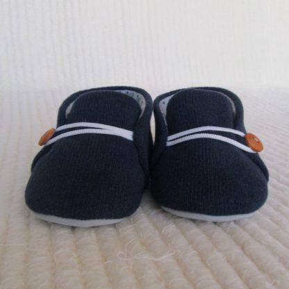 Dark Blue Baby Soles